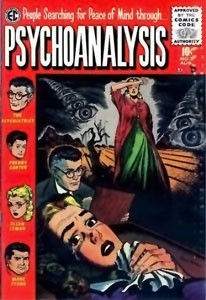 Comic-book-cover-titled-People-Searching-for-Peace-of-Mind-through-Psychoanalysis_Medium