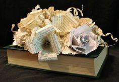 """Bouquet Book Sculpture"" by Jodi Harvey-Brown"